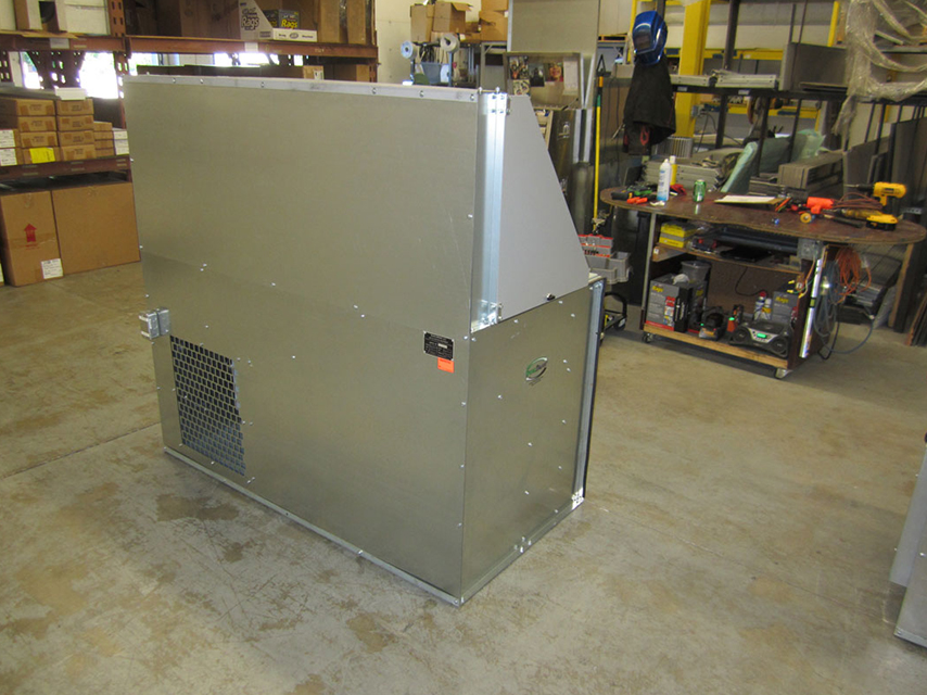 Downdraft Booths Downdraft Paint Booth Dualdraw