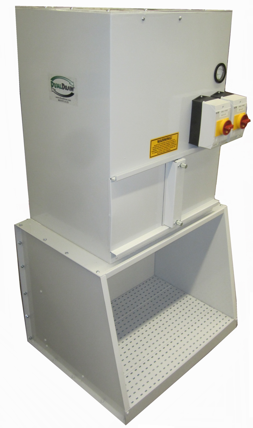 Dust Collection Table Small Downdraft Table Dualdraw