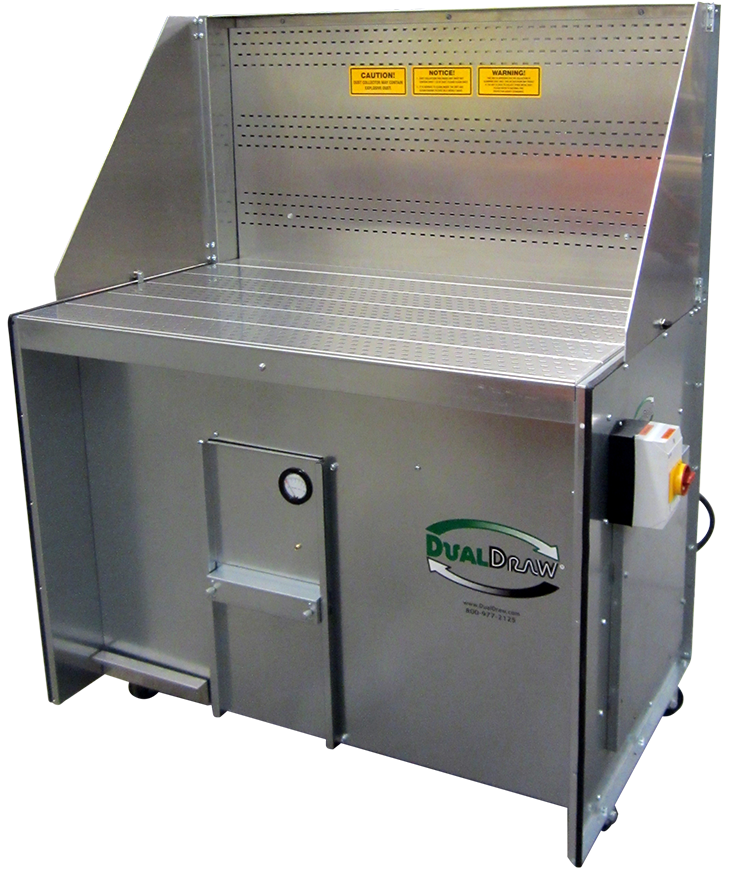 Downdraft Table Fume Extraction Table Dualdraw