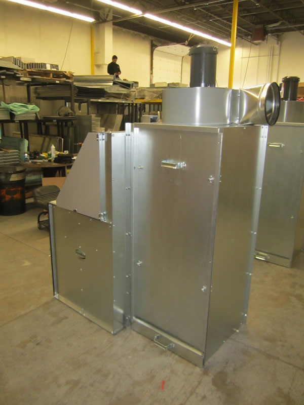 Industrial Filtration Units : Downdraft units industrial air filtration